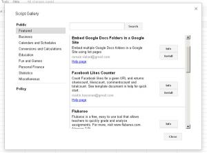 Google Docs - mehr als nur Tabellenkalkulation