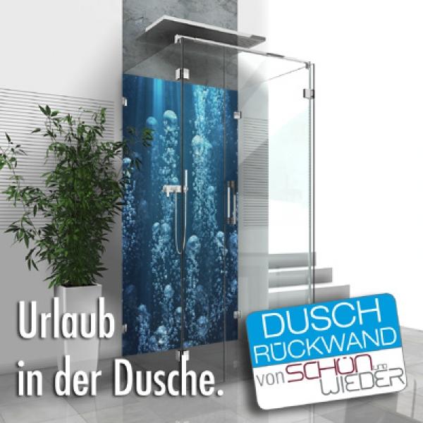 Die Duschrückwand von Schön & Wieder