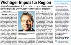 Wichtiger Impuls für die Region