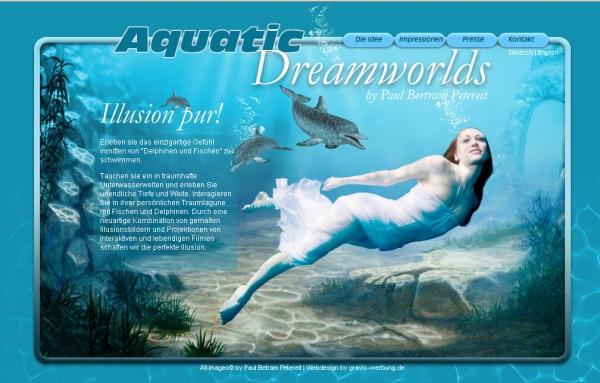 Aquatic Dreamworlds geht online